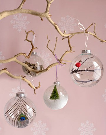 8 id es pour cr er et personnaliser des boules de no l for Creative christmas ornaments homemade