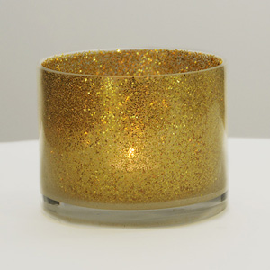Pot à paillettes