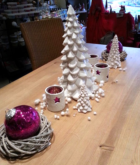 Idee de decoration de table de noel Idee deco table noel
