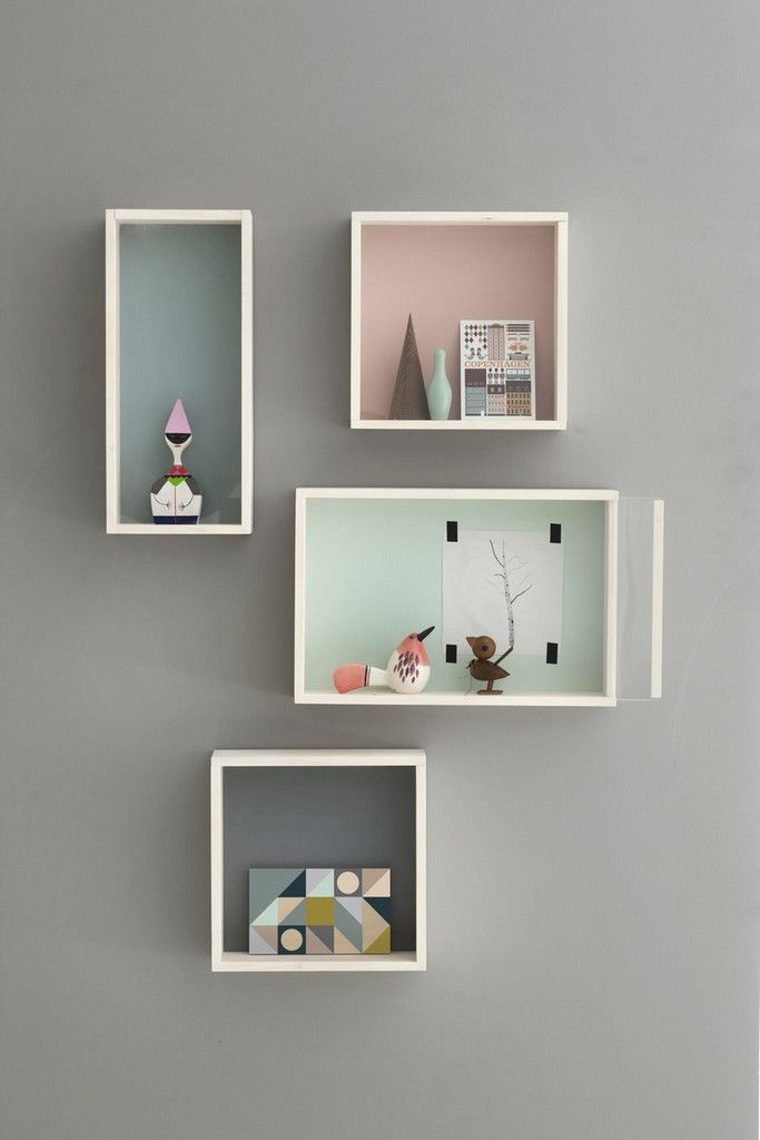 Caisse En Bois Ikea : Display Wall Boxes