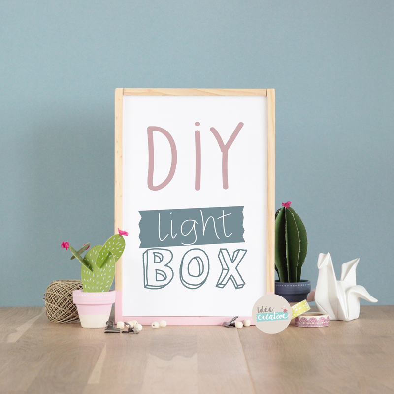 light-box-diy